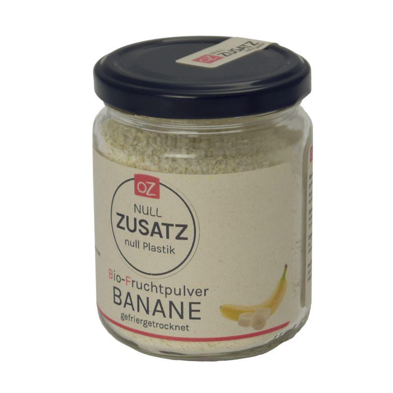 OZ - Bio Bananenpulver gefriergetrocknet