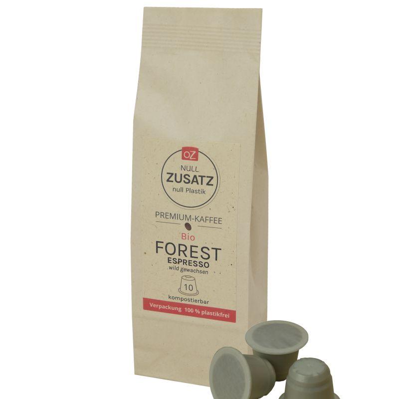 OZ Bio Projektkaffee-Kapseln Forest Espresso 10