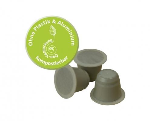 OZ - Null Zusatz - Kaffeekapsel kompostierbar