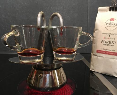OZ Espresso-Zubereitung