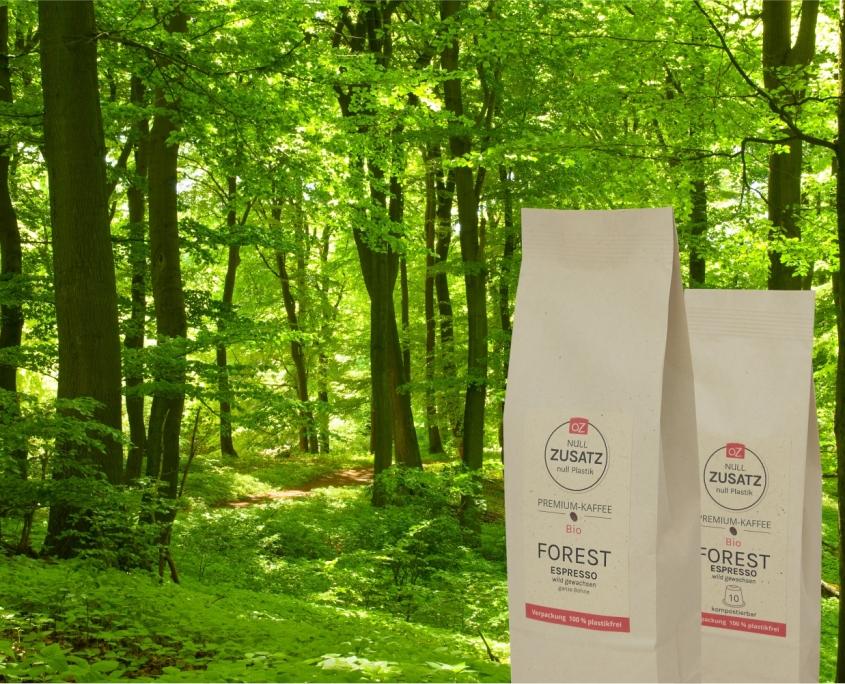OZ Forest Kaffe mit Wald